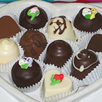 Assorted Fine Chocolate Truffles